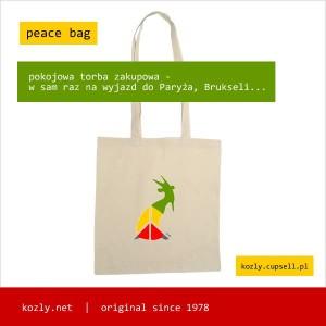 koziol peace bag
